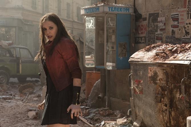 Elizabeth Olsen in Avengers: Age of Ultron
