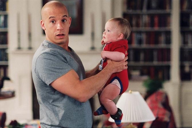Vin Diesel papà in attesa del terzo figlio