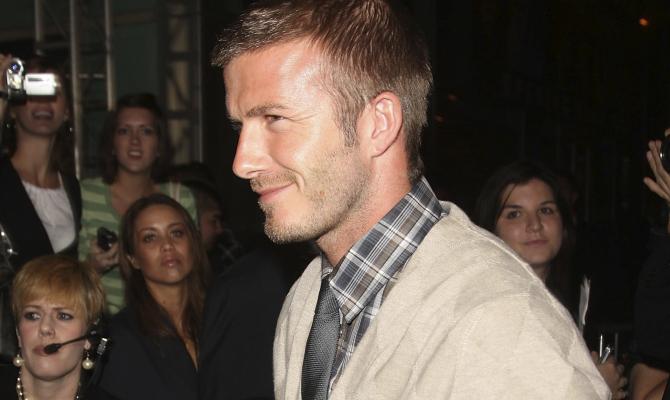 """Papà vip: a David Beckham lo scettro del più """"glam"""""""