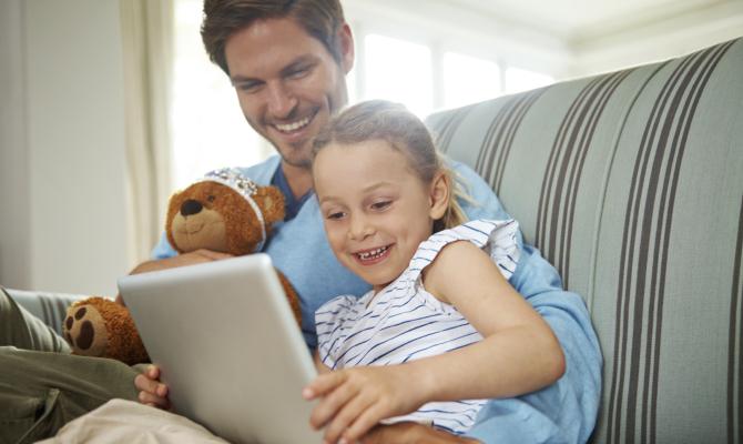 Papà single ma non isolati con il social network ad hoc