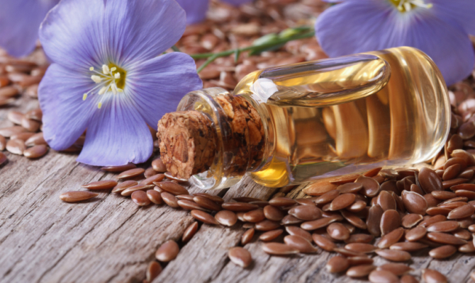 Olio di semi di lino, elisir di bellezza