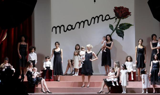 Dolce&Gabbana: viva la mamma