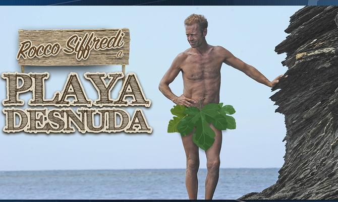 Rocco desnudo fa impazzire l'Isola e i social