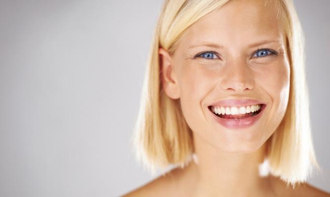 trattamenti estetici, viso, rughe, sorriso, donna