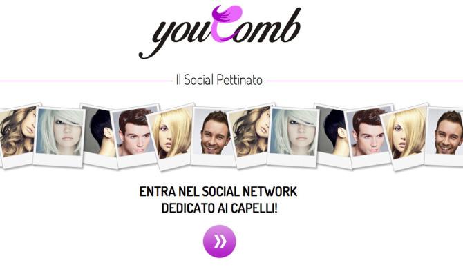"""Youcomb.com, il Social Network """"pettinato"""""""