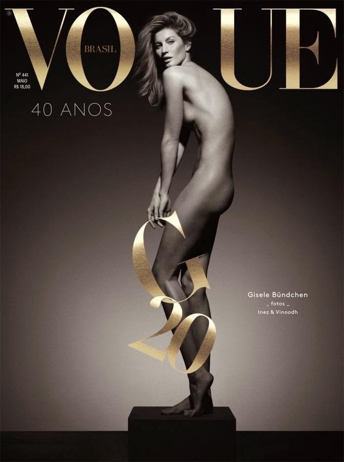 Copertina Vogue Brasile