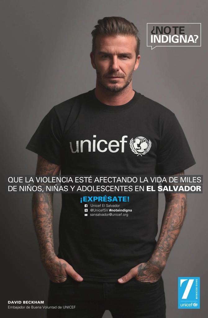 David Beckham per Unicef