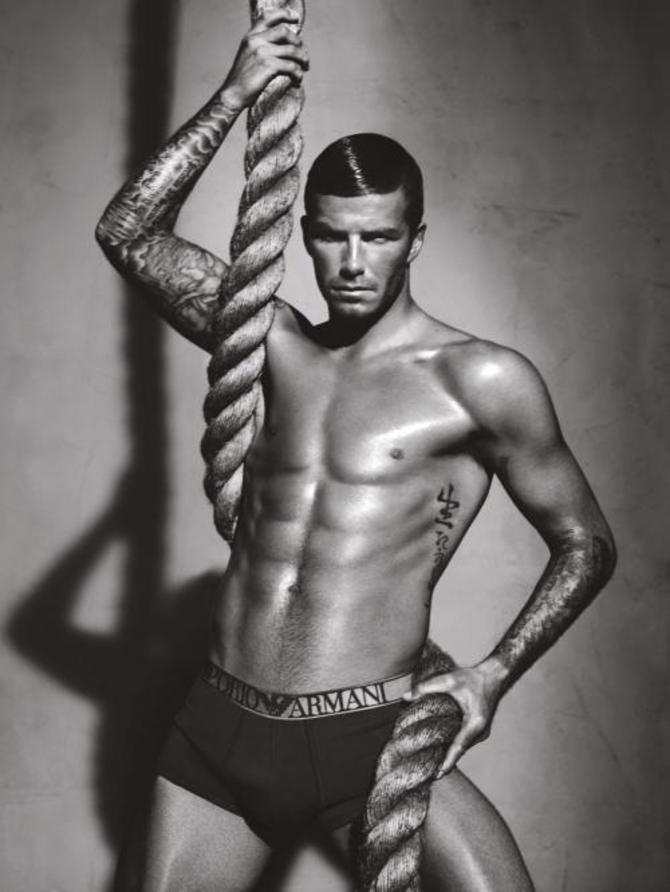 David Beckham per Emporio Armani