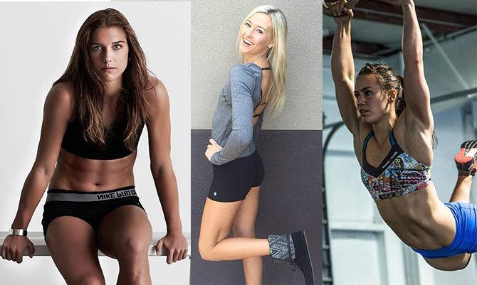 Bellezza sportiva: le 10 atlete più sexy
