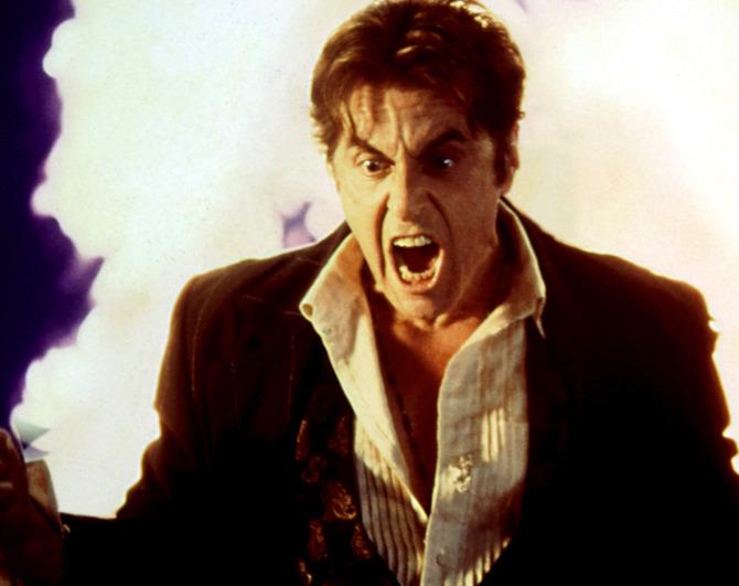 Satana in L'avvocato del diavolo (1997)