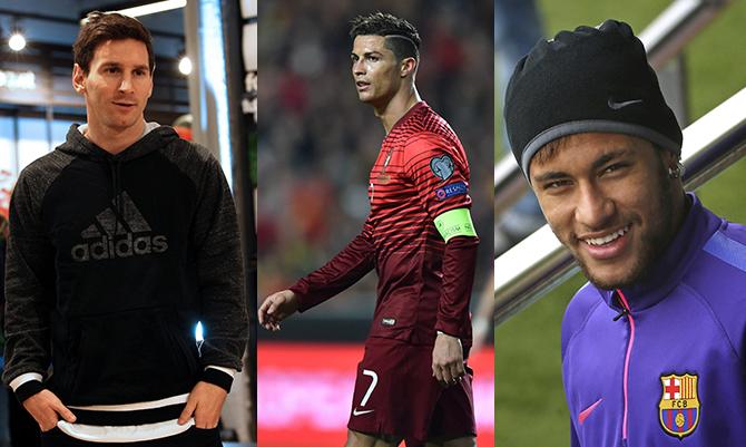 I dieci calciatori più pagati dell'anno