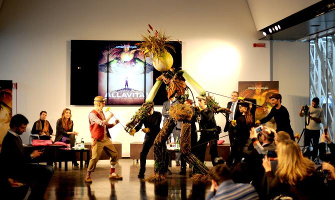 Cirque du Soleil ALLAVITA! presentazione Milano