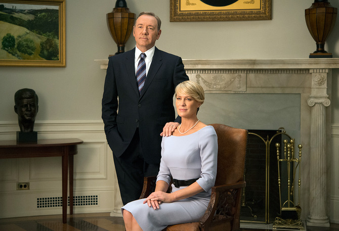 Robin Wright, First Lady in House of Cards 3