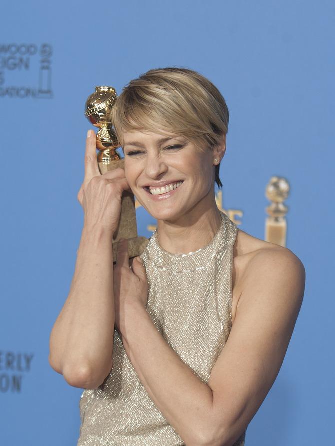 Golden Globe come migliore attrice per House of Cards