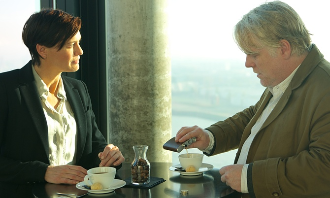 Con Philip Seymour Hoffman (2014)
