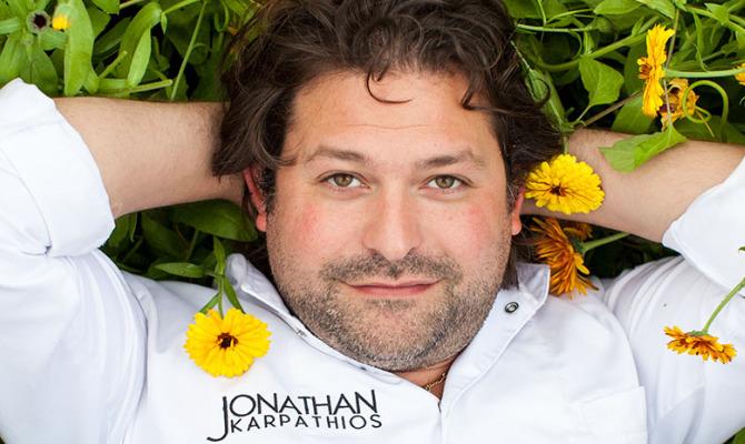 Chef Jonathan Karpathios