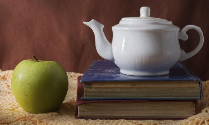 Una mela e un tè al giorno e via i kg di torno!