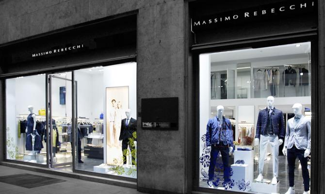 Massimo Rebecchi, nuova boutique a Torino