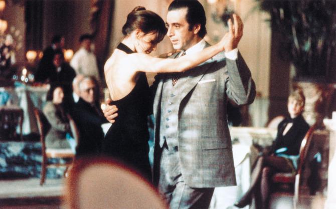 A passo di tango in Scent of a Woman - Profumo di donna (1992)