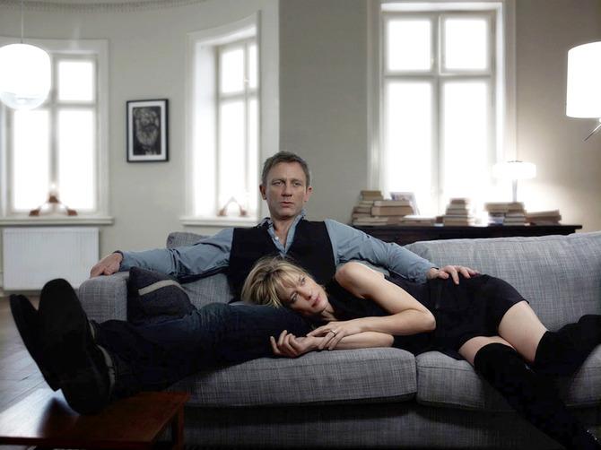 Con Daniel Craig in Uomini che odiano le donne (2011)