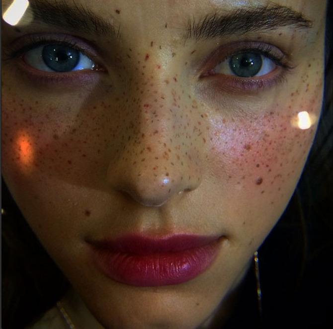 Make up by Val Garland