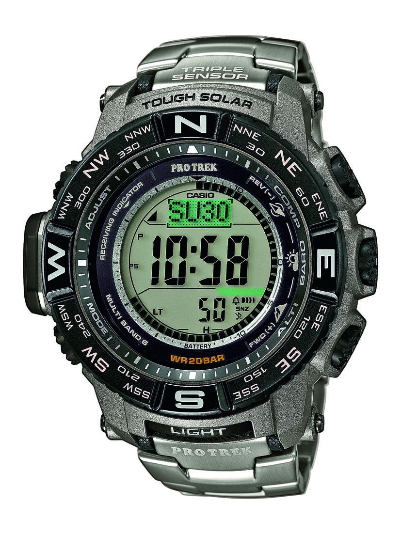 Casio PRW-3500: l'orologio tecnico che piace al CAI