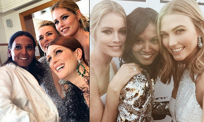 Backstage Cannes 2015