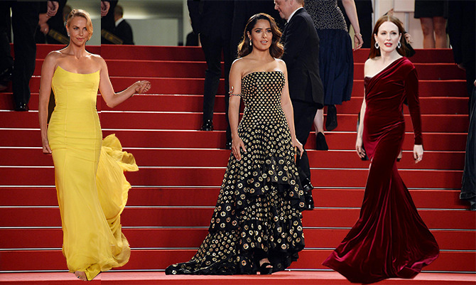 Red carpet Cannes 2015