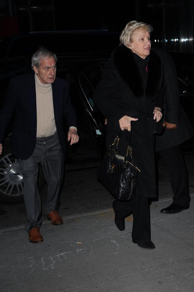 Tina Brown e Harold Evans