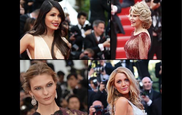 Cannes 2015, sfila la magia di L'Oréal Paris
