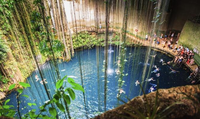 In Messico per un viaggio Total Green
