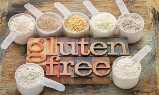 senza glutine, gluten free. farina
