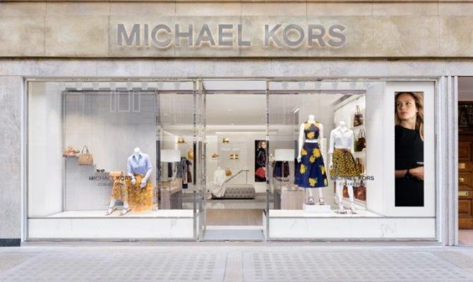 Opening a Londra per Michael Kors Collection