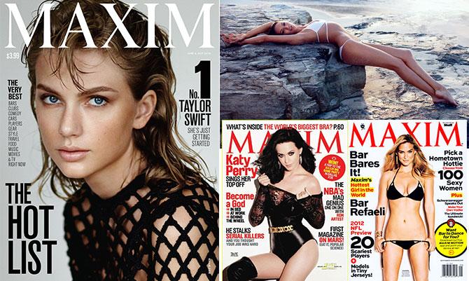 Le più hot secondo Maxim degli ultimi dieci anni