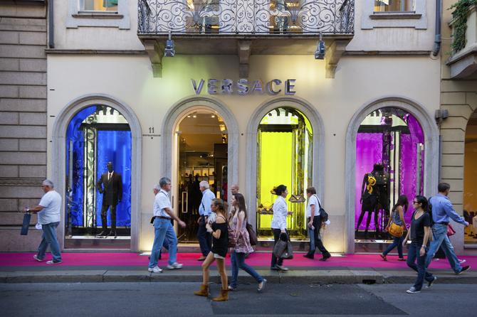 Boutique Versace Milano