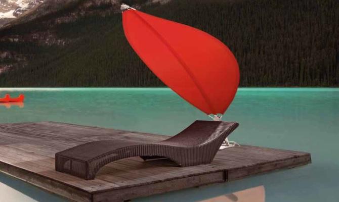 Ombrelloni, la protezione del design