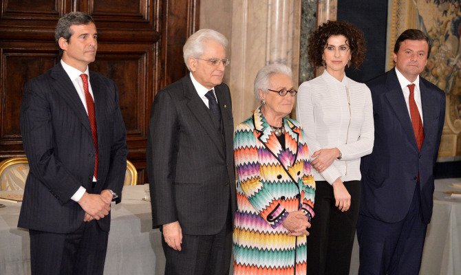 Rosita Missoni, queen dei premi Leonardo 2014