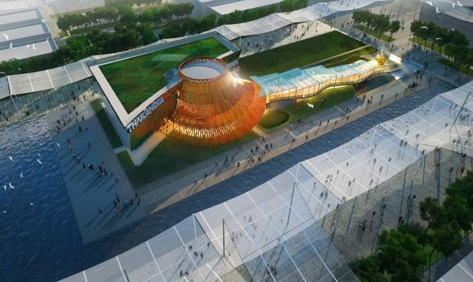 Expo, il padiglione della Thailandia