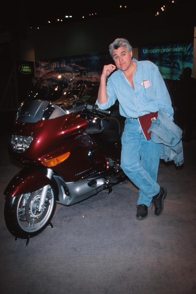 Jay Leno moto