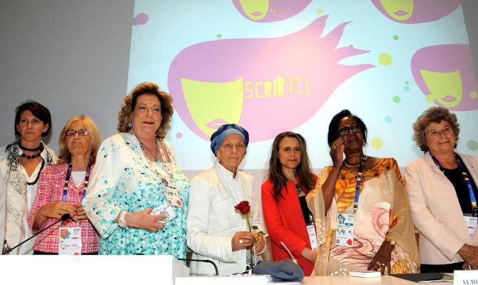 Expo 2015: le donne al centro del dibattito su cibo e nutrizione