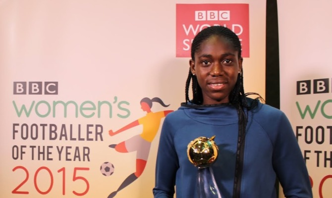 Calcio femminile: la regina èAsisat Oshoala