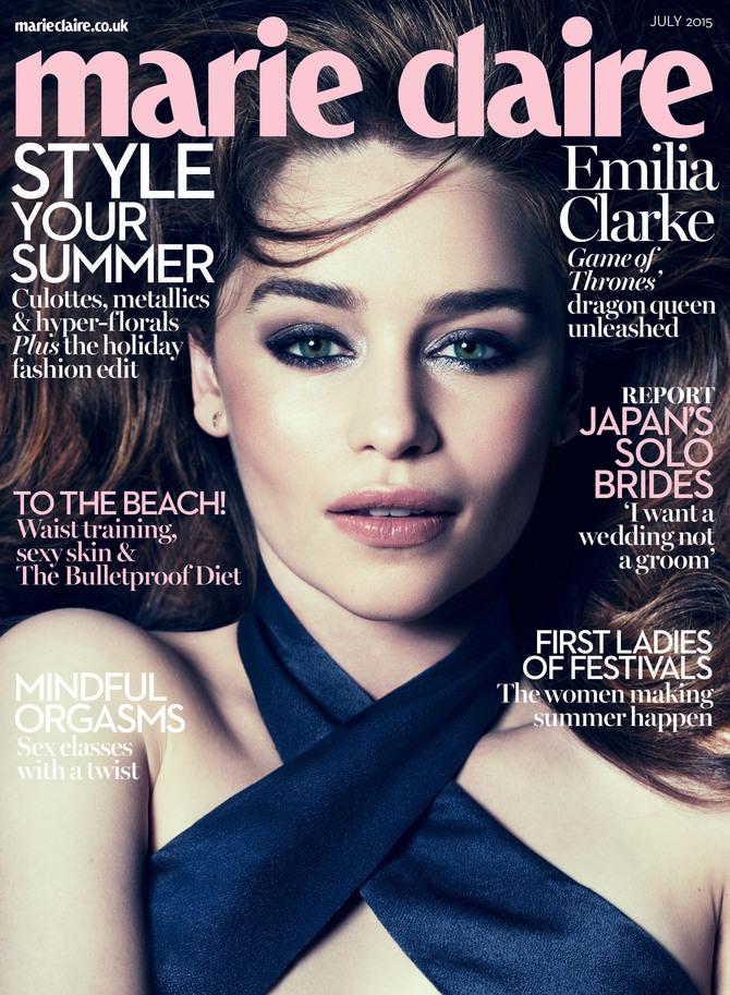 In copertina su Marie Claire