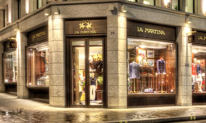 A Londra l'opening del flagship store La Martina