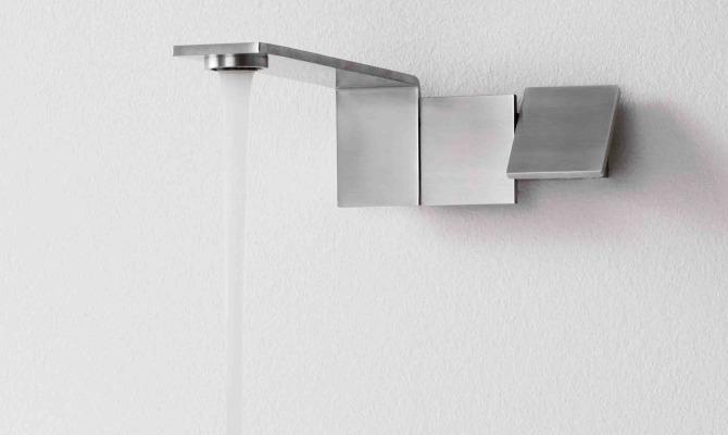 Risparmio idrico, il design interviene
