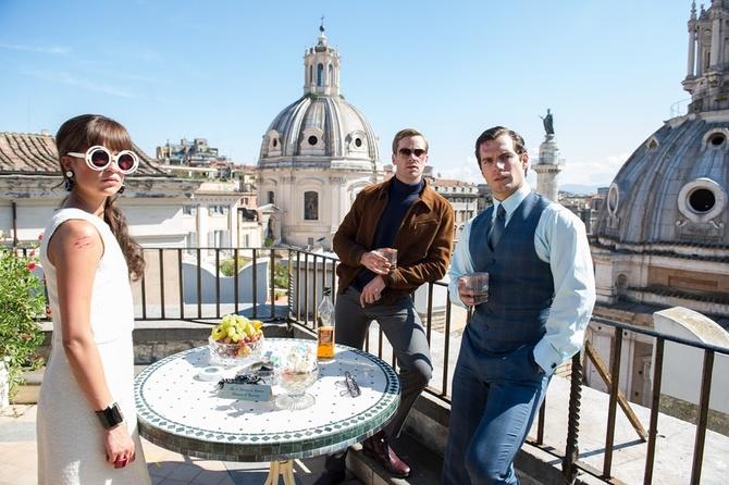 Sui tetti di Roma in Operazione U.N.C.L.E.