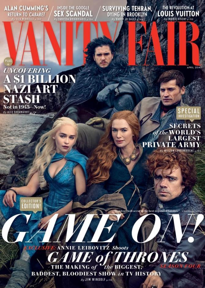 Le copertine di Emilia Clarke: Vanity Fair