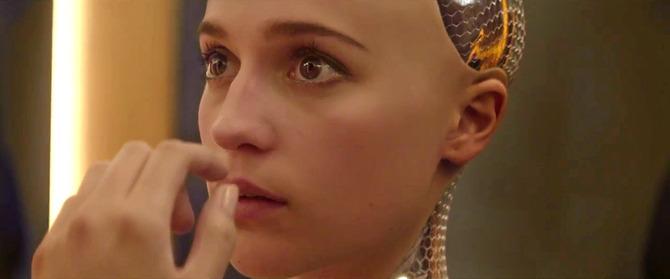 Robot sexy - Ex Machina (2015)