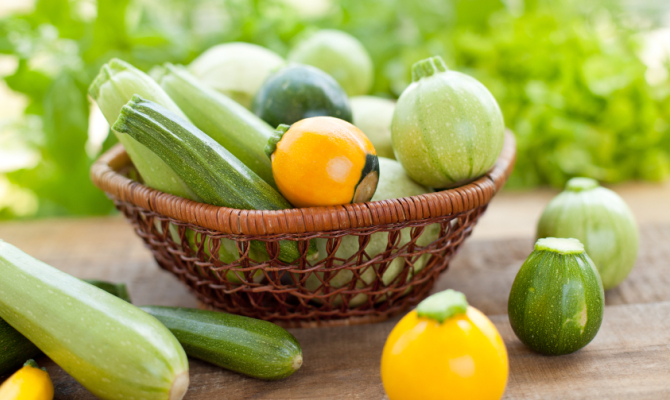 Sovrana degli ortaggi: la zucchina