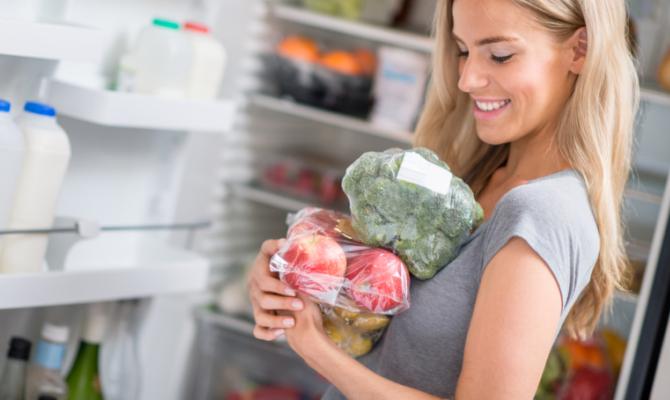 Frutta in frigo