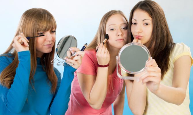 Il make up a misura di adolescente